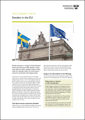 Cover of Sweden in the EU.